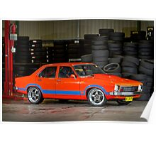 Darren Hawkins' 1JZ-powered Holden Torana Poster