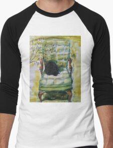 Natasha in the Chartreuse Chair Men's Baseball ¾ T-Shirt