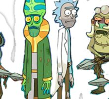 Tree people and Rick Sticker