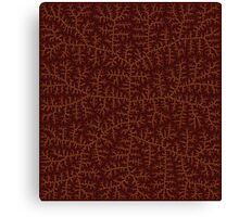Faux Leather III Canvas Print