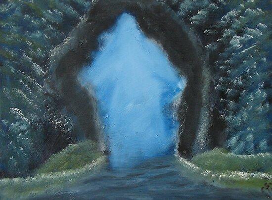 """The Door""  by Carter L. Shepard by echoesofheaven"