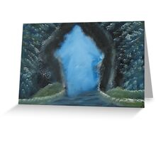 """The Door""  by Carter L. Shepard Greeting Card"