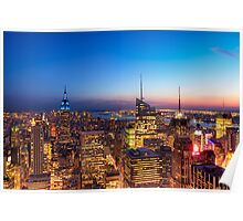 All That Glitters Is Gold - NYC Skyline Poster