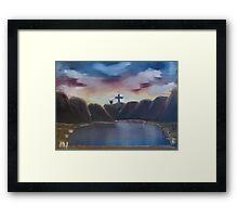 """The Wonderous Cross""  by Carter L. Shepard Framed Print"