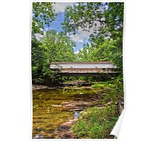 The Green Sergeants Covered Bridge # 2 Poster