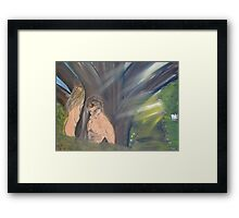 """where are you""  by Carter L. Shepard Framed Print"