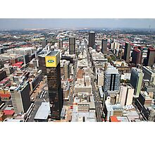 Downtown Johannesburg, South Africa Photographic Print