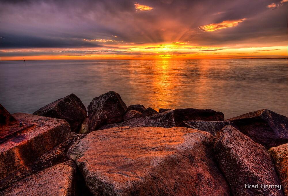 Rocky Sunset 2 by Brad Tierney