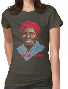 Harriet Tubman - American Hero Womens Fitted T-Shirt