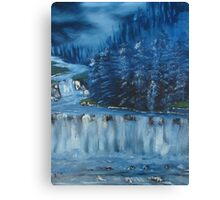 """Winter Scene 5""  by Carter L. Shepard Canvas Print"
