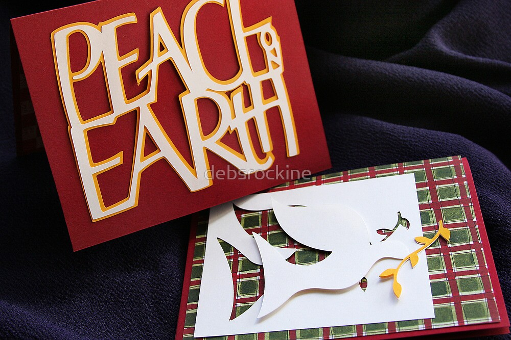 Peace on Earth Card by debsrockine