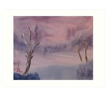 """Winter Scene 1""  by Carter L. Shepard Art Print"