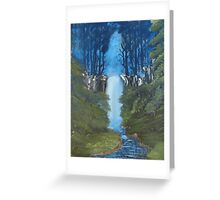 """""""Secret Place""""  by Carter L. Shepard Greeting Card"""