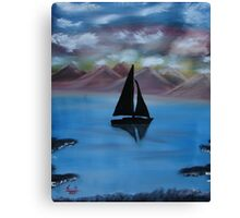 """Sail Away""  by Carter L. Shepard Canvas Print"