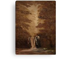 """""""Rustic Fall""""  by Carter L. Shepard Canvas Print"""