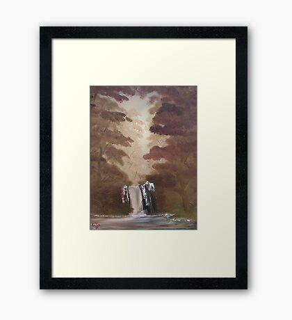 """Rustic Fall 2""  by Carter L. Shepard Framed Print"