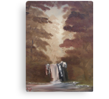 """Rustic Fall 2""  by Carter L. Shepard Canvas Print"