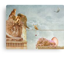 The Great Egg Hunt Canvas Print