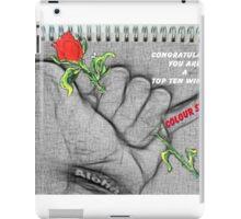 TOP TEN WINNER IN COLOR SPLASH GROUP iPad Case/Skin