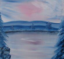"""""""Pastel Winter 2""""  by Carter L. Shepard by echoesofheaven"""