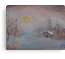 """Lighted Winter""  by Carter L. Shepard Canvas Print"