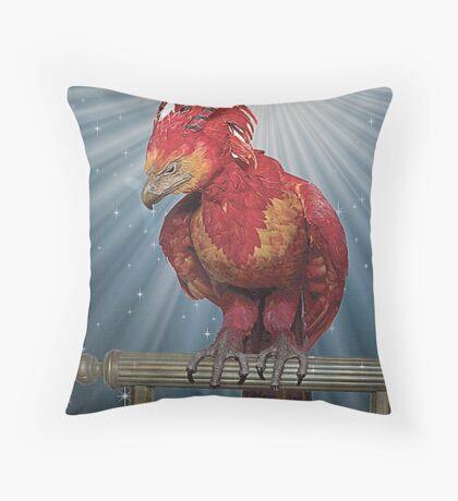 FAWKES  Throw Pillow