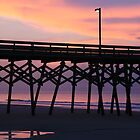 The Pier At Surfside Beach by Geno Rugh