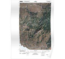 USGS Topo Map Washington State WA Camp Seven 20110404 TM Poster