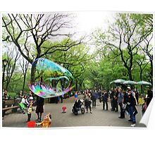 New York Bubble Poster