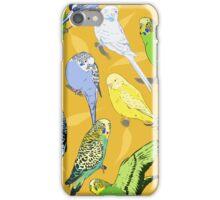 Budgies - Yellow iPhone Case/Skin