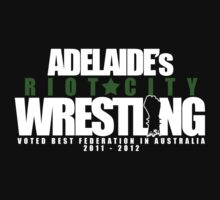 Adelaide's Riot City Wrestling Kids Clothes