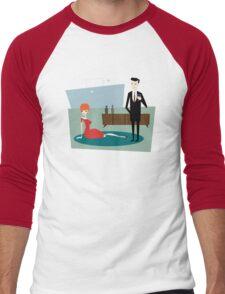 Mad Draper Men's Baseball ¾ T-Shirt