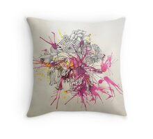 The Florals Throw Pillow