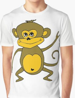 Little Monkey - Year of the Monkey 2016 : Chinese Zodiac Sign Graphic T-Shirt