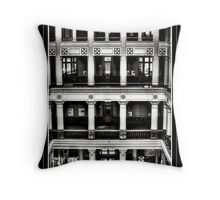 Landmark Levels Throw Pillow