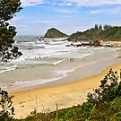 Flynns Beach, Port Macquarie  by TonyCrehan