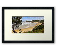 Flynns Beach, Port Macquarie  Framed Print