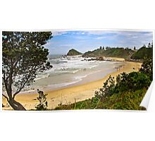 Flynns Beach, Port Macquarie  Poster