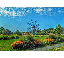 Boyd's Wind Grist Mill in Middletown, Rhode Island Photographic Print