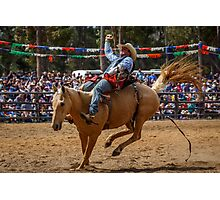 Rodeo Fun Photographic Print