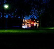 Lights in the park by Tommi Rautio