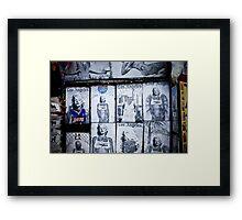 Gangsta Marilyn Framed Print