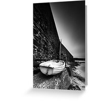 Rest Until the Morning Comes BW Greeting Card