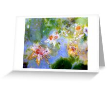 Crystal Spray 2 Greeting Card