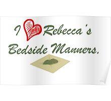 I Heart Rebecca's Bedside Manners. Poster