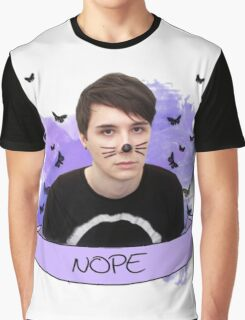 dan howell (with banner) Graphic T-Shirt