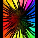 """Rainbow Splat"" - phone by Michelle Lee Willsmore"