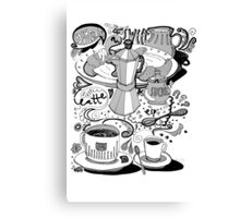 time for braekfast Canvas Print