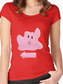 Yeah, Ditto (Pokemon) Women's Fitted Scoop T-Shirt
