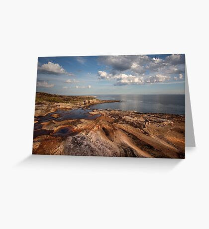 Sydney Rocky Seascape Greeting Card